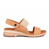 Nabuk Camel and Tan Sandal