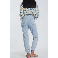 Pocket Denim Jogger Light Denim