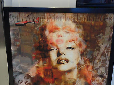 MARILYN MONROE: MYTH/ Giclee canvas