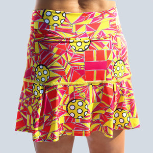 ANGLE SHOT 1 DROP-PLEAT SKORT
