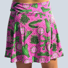 Load image into Gallery viewer, CACTUS MAKES PERFECT 2 A-LINE SKORT
