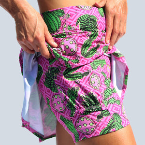 CACTUS MAKES PERFECT 2 DROP-PLEAT SKORT