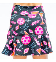 Load image into Gallery viewer, MARTINI 2-4-1 HAPPY HOUR DROP-PLEAT SKORT