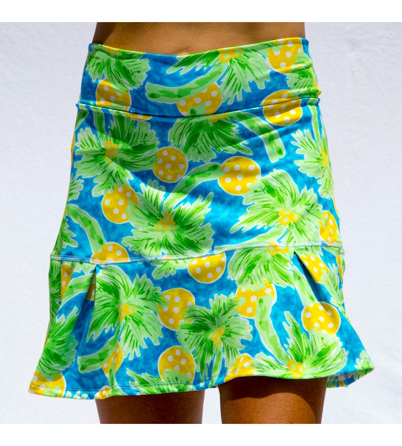 PALMS 1 DROP-PLEAT SKORT