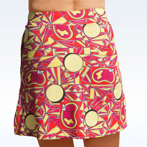 Golf Bella Angle Shot Straight Skort