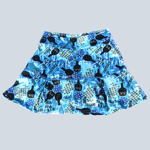 GRAFFITI 2 DROP-PLEAT SKORT