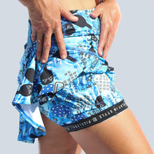 Load image into Gallery viewer, GRAFFITI 2 DROP-PLEAT SKORT