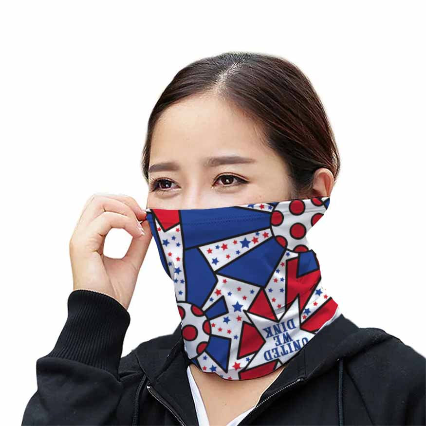United We Dink Gaiter, Protective Face Cover