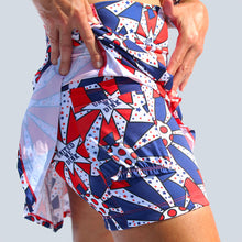 Load image into Gallery viewer, UNITED WE DINK DROP-PLEAT SKORT