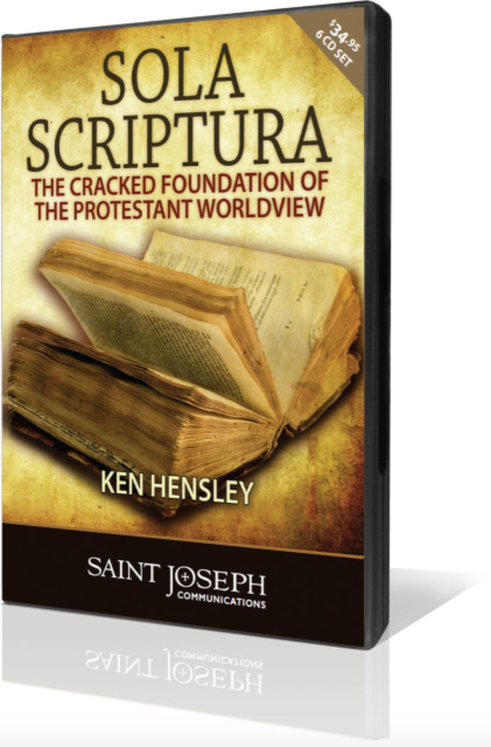 Sola Scriptura: Cracked Foundation of the Protestant Worldview, Part II: Sola Scriptura is Unscriptural