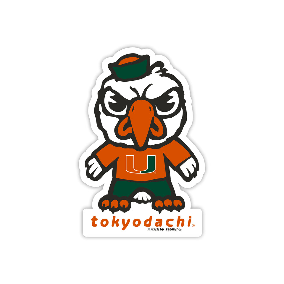 Miami  Sticker - tokyodachi