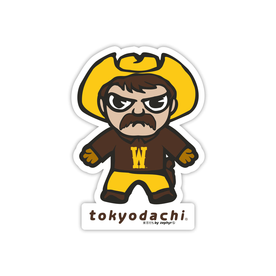 Wyoming  Sticker - tokyodachi