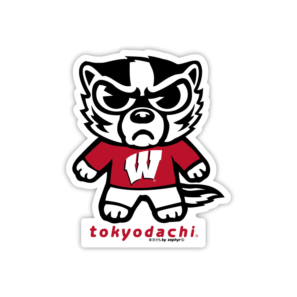 Wisconsin  Sticker - tokyodachi