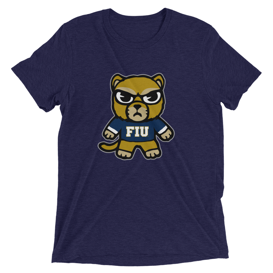 Florida International Unisex Tri-Blend T-Shirt - tokyodachi