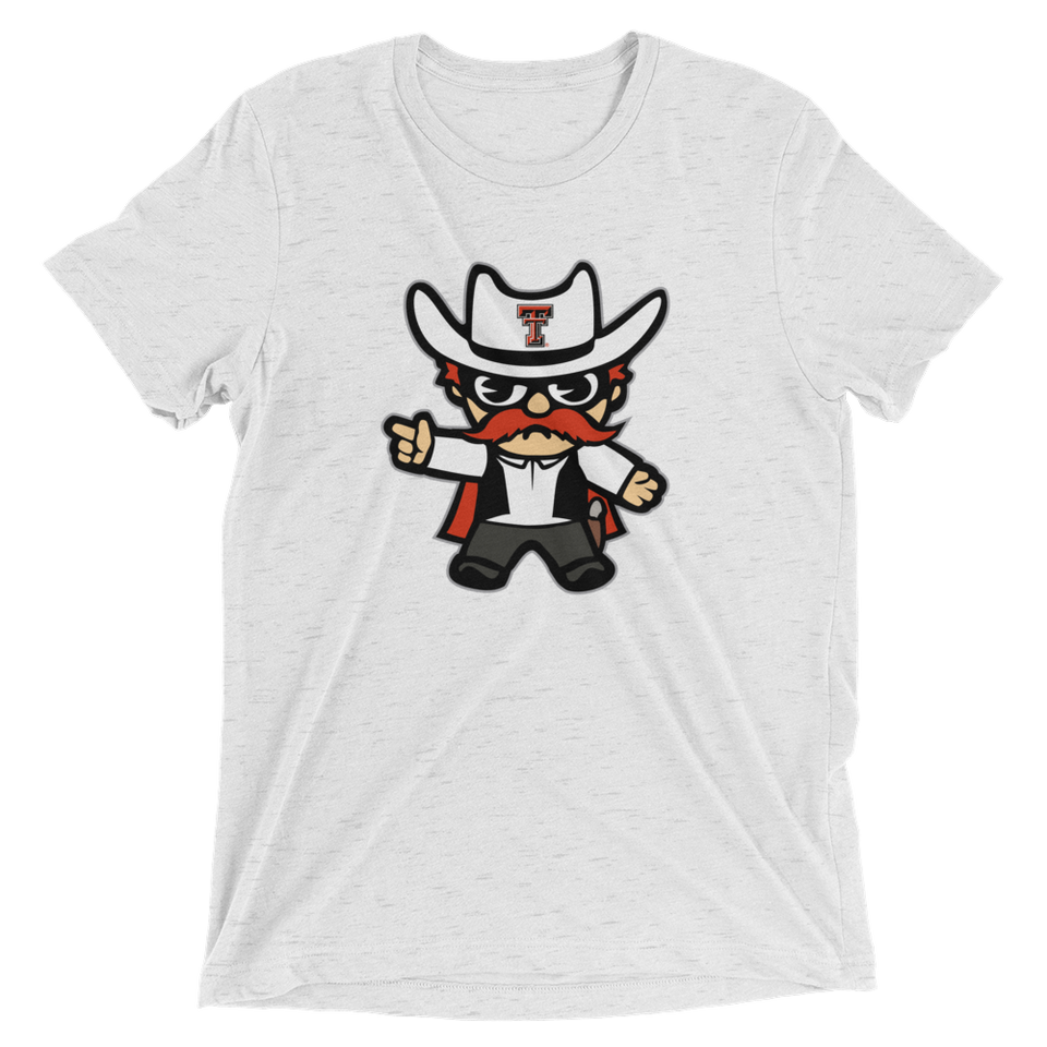 Texas Tech Unisex Tri-Blend T-Shirt - tokyodachi