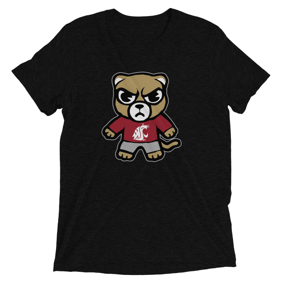 Washington State Unisex Tri-Blend T-Shirt - tokyodachi