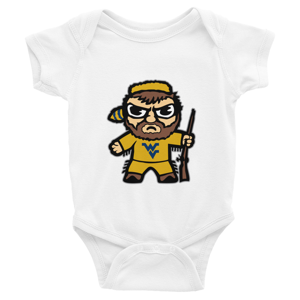 West Virginia Infant Onesie - tokyodachi