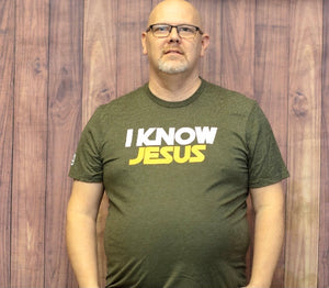 I Know Jesus Graphic Tee