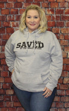 Load image into Gallery viewer, I Am Saved By The Grace Of God Hoodie With Mask