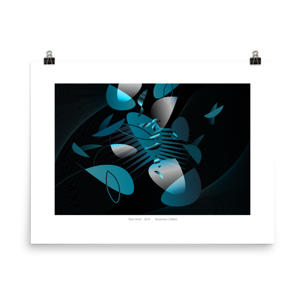 """Web Work"" Giclée Poster - beARTified"