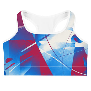 """Axis"" Sports bra - beARTified"
