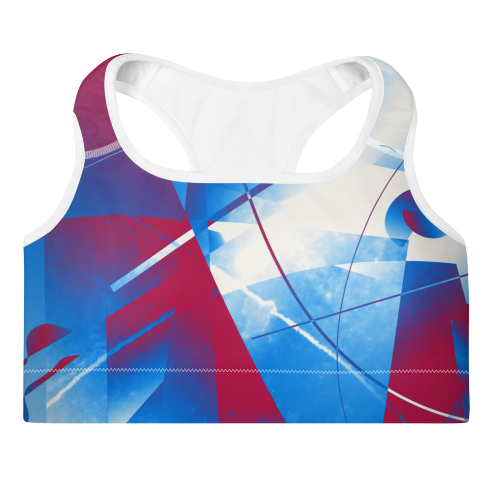 """Axis"" Padded Sports Bra - beARTified"