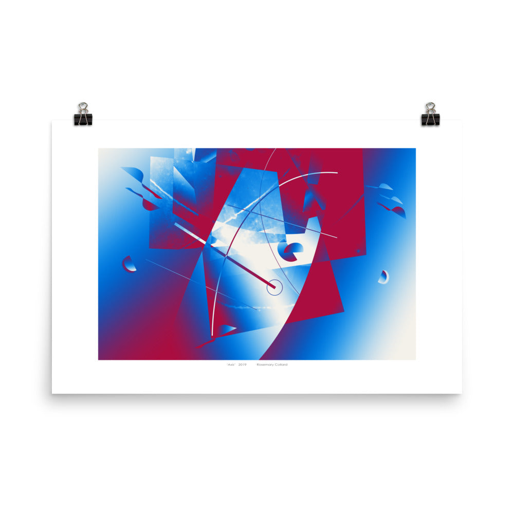 """Axis"" Giclée Poster - beARTified"