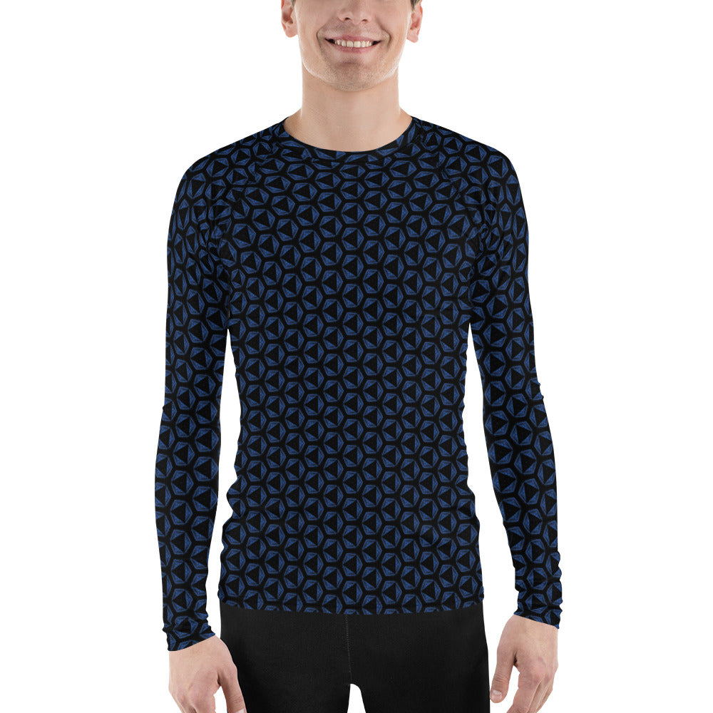 """Flight"" Pattern Men's Rash Guard - beARTified"