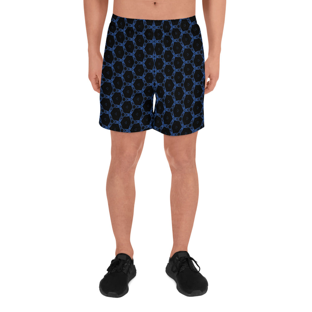 """Flight"" Pattern Men's Athletic Long Shorts - beARTified"