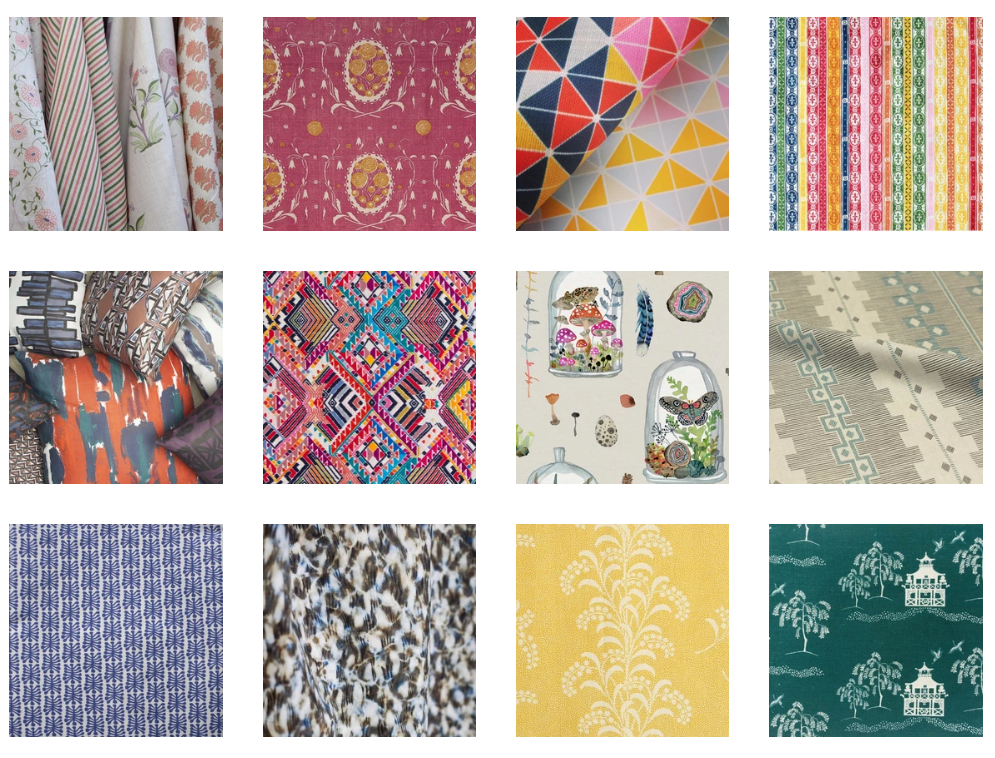 We Carry 50+ Textile Companies and Designers