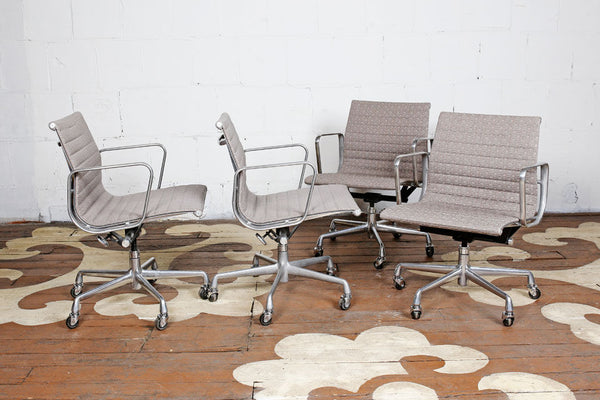 Aluminum Group Desk Chairs