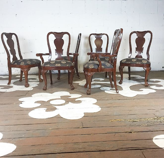 Claw Foot Dining Chairs
