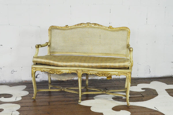 French-Style Settee