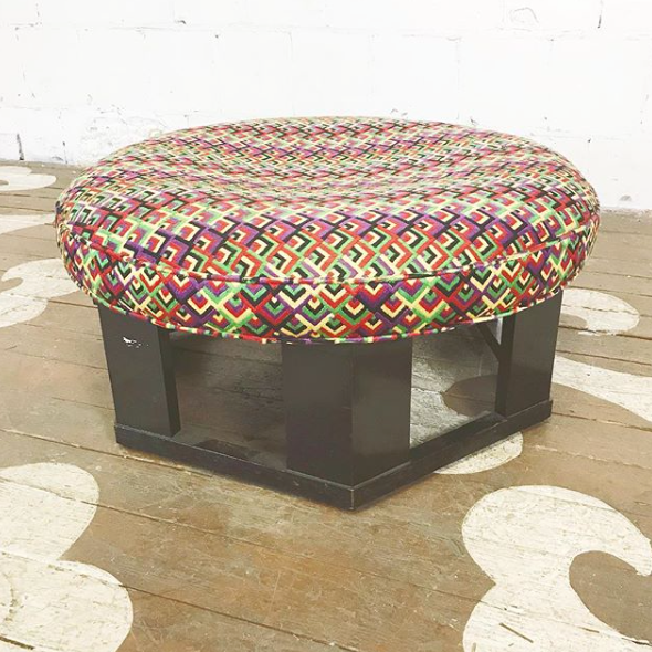 Harvey Probber Circle Ottoman