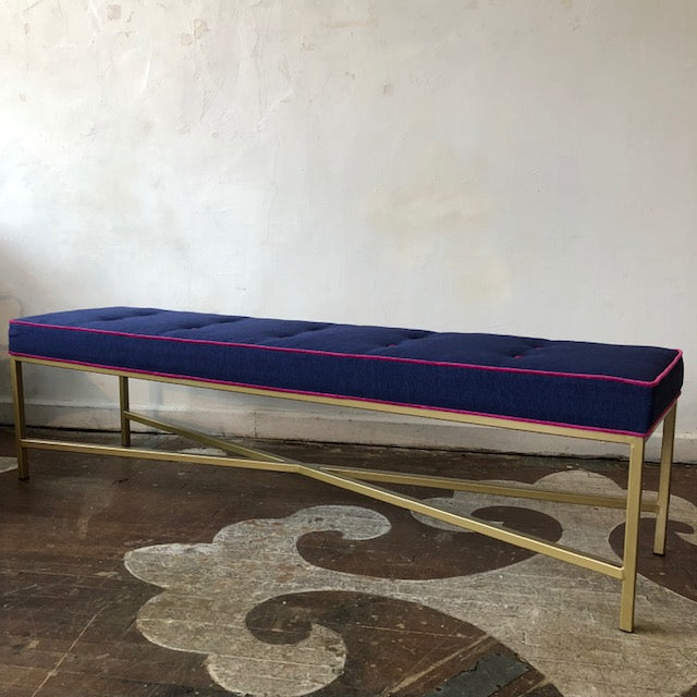 Rectangular Welded Steel Bench
