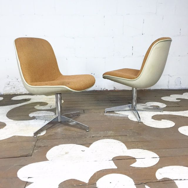Mid-Century Steelcase Chairs