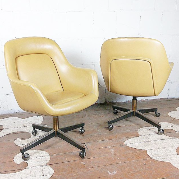 Vintage Oversized Executive Chair By Max Pearson