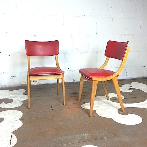 Pair Of Mid-Century Dining Chairs