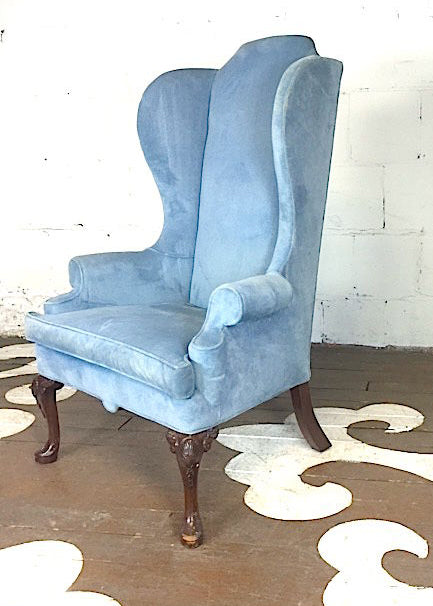 Tall Wingback Armchair