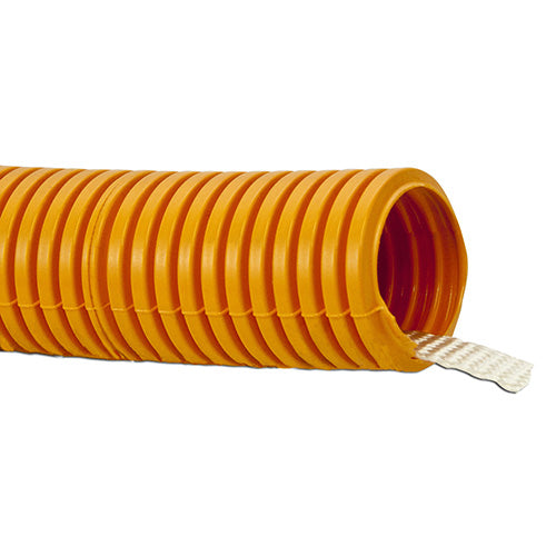 "W Box Technologies 0E-RG125100 1 1/2"" x 100 ft. Corrugated Flexible Conduit, Orange"