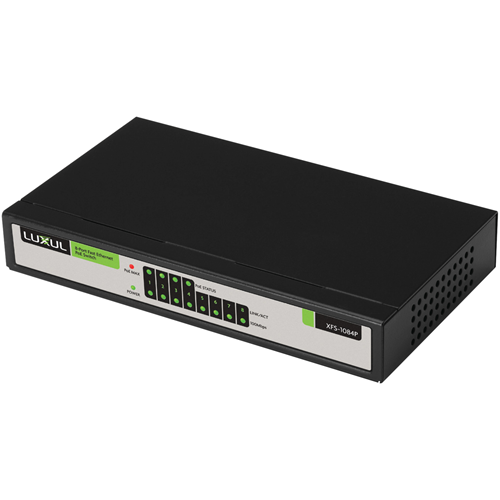 Luxul XFS-1084P 8-Port/4 PoE Fast Ethernet Switch