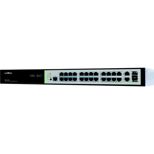 Luxul XMS-2624P 26 Port/24 PoE+ Gigabit Managed Switch