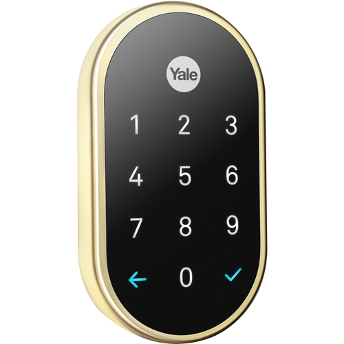 Google Nest x Yale RB-YRD540-WV-605 Lock (Polished Brass) with Nest Connect