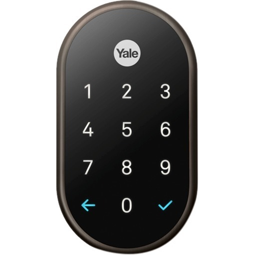 Google Nest x Yale RB-YRD540-WV-0BP Lock (Oil-Rubbed Bronze) with Nest Connect