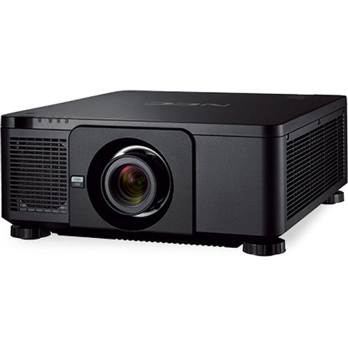 NEC Display NP-PX1005QL-B-18 4K UHD Installation Laser Projector with NP18ZL-4K Zoom Lens (Black)