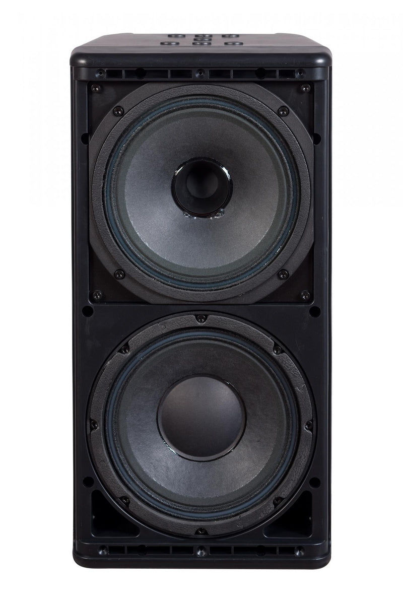 One Systems 208/HTC-Black High output dual 8-inch Two-Way Direct Weather Black