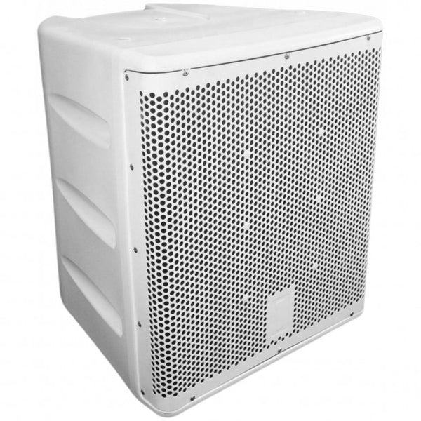 One Systems 118/HSB-White 18inch Direct Weather Subwoofer System White