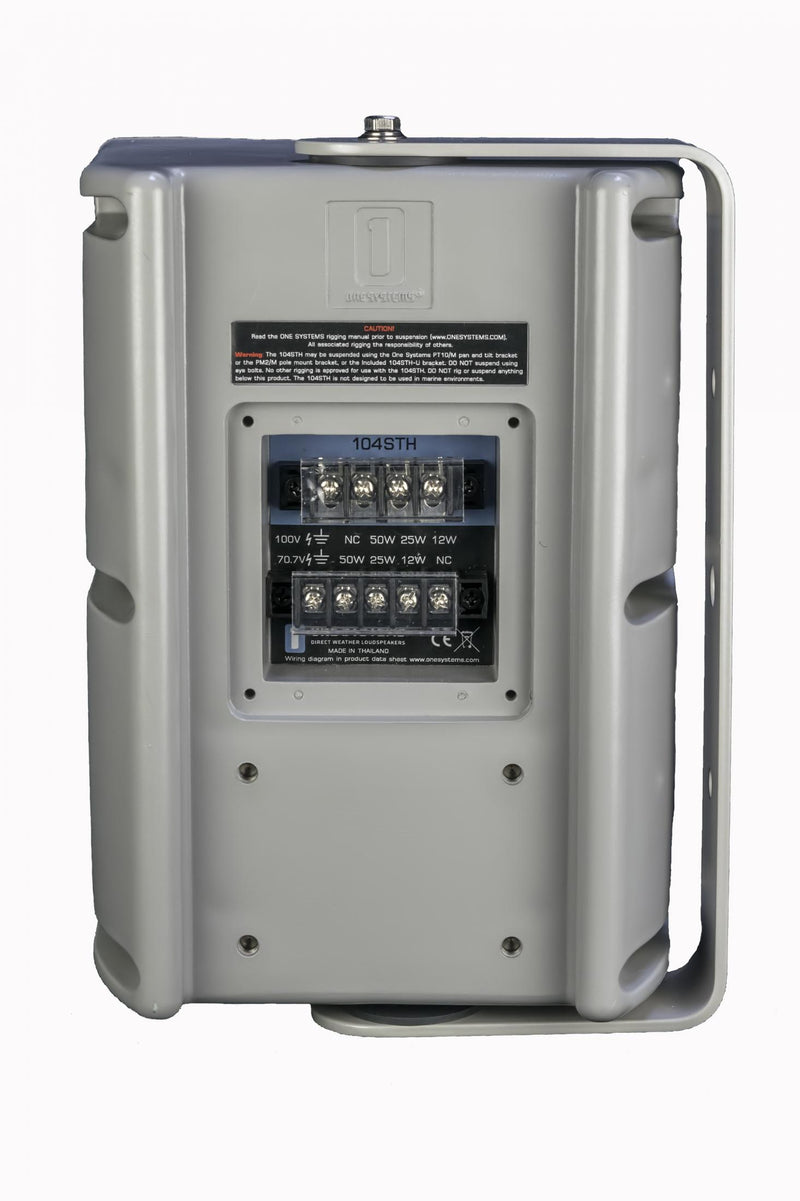 One Systems 104/STH Two-way 4.5inch IP56 Rated