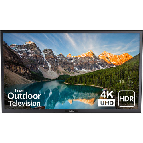 "SunBriteTV SB-S2-43-4K-BL Signature 2 Series 4K Ultra HD Partial Sun Outdoor TV - 43"" (Black)"