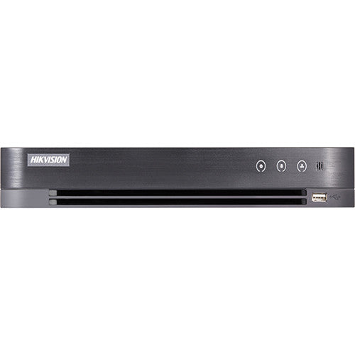 Hikvision DS-7208HUI-K2/P-2TB Turbo HD Tribrid 8-Channel 5MP DVR with PoC Support & 2TB HDD